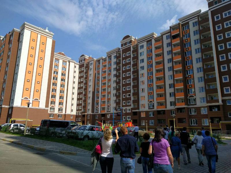Двухкомнатная квартира ЖК Петровский квартал